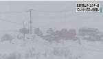 """일본 군마현 모토시라네산 화산 분화...NHK """"눈사태로 자위대원 1명 사망"""""""