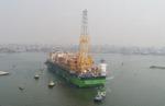 삼성중공업 세계 최대 규모 FPSO(부유식 원유 생산·저장·하역설비) 나이지리아에 도착