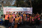 동의과학대학교 'DIT교직원봉사단', 무료급식 봉사활동