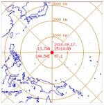 괌 지진, 규모 6.0 '인명 재산 피해 아직은 없는 상태'