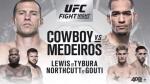 [UFC] 스포티비 중계 '세로니, 상승세 메데이로스 꺽고 반전 연출하나'