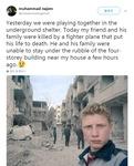 """시리아 소년의 외침 """"우릴 살려달라"""""""