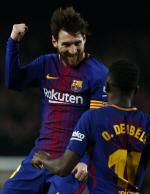 FC바르셀로나, 메시-수아레스 평점 10점 활약에 6-1대승...리그 32경기 무패 진기록