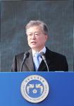 """문재인 대통령 """"일본 위안부 반인륜적 범죄행위…'끝났다'는 말로 덮을 수 없어"""""""