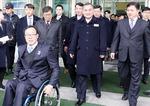 북한 패럴림픽 선수단 방한