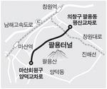창원~마산 연결 팔용터널 10월 개통
