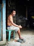 [포토에세이] 필리핀 사내가 누리는 '소확행'