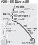 노포~양산 북정 도시철도 28일 착공