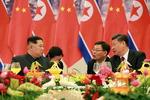 [북중회담] 혈맹 과시·중국 패싱론 일축하며…비핵화 협상 로드맵 조율