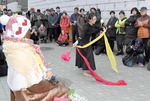 초량동 소녀상, '평화기원' 청년예술가 무대로