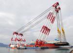 세월호 직립작업에 현대중공업 1만 t급 해상크레인 동원된다