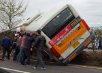 울산 버스사고, 순식간에 모인 '시민구조대' 활약 빛났다