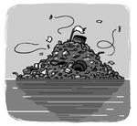 [도청도설] 쓰레기 섬
