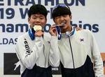 근대 5종 부산체고 문주성·이민서, 유소년 세계선수권 계주서 금메달