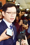 """김경수 경남지사 출마…""""특검하라"""" 정면돌파"""