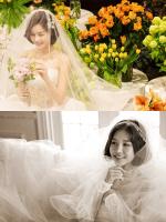 4월의 신부 박은지, 일반인 남성과 결혼식…아름다운 드레스 사진 공개