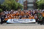 부산 연제경찰서와 부산경상대학교, 교통안전 캠페인 실시