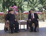 김정은 또 방중…시진핑 만났다