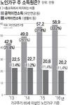 노인가구 소득 33%는 연금 등 국가지원금