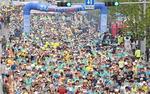 하프마라톤 1만여 달리미 축제