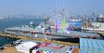 한국 두 번째 대형수송함 '마라도함' 위용