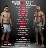 [UFC] 우스만, 베테랑 마이아 꺽고 연승 가도 이어가나