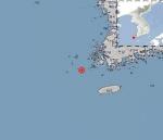 전남 신안군 흑산면 남남동쪽 56km 해역 규모 2.0 지진