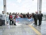 부산 다선중학교 자매결연 학교 시카고 시드니소이어스쿨 학생과 교직원, 부산 방문