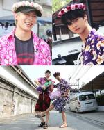 '배틀트립' 엔-홍빈, 태국 송끄란 축제 '패션왕' 등극…'시선 강탈러'