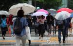 """[오늘의 날씨]기상청 """"부산·대구 등 비, 일부는 돌풍·천둥·번개...전라동부는 우박 가능성"""""""