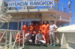 현대방콕호 미국인 조난자 2명 구조