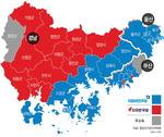 경남 남해서 울산까지…동남권 해안 민주당 '블루벨트'