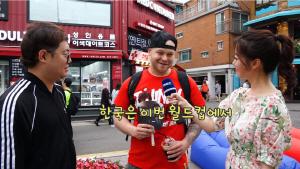 """감스트, 독일-멕시코인에게 한국 축구 물어봤더니...""""팽팽하겠지만""""'"""