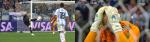 [크로아티아 아르헨티나]카바예로 키퍼의 충격적 실수, 아르헨티나 레비치 선취골