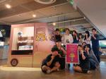 동명대 학생교수팀 암남공원클램마켓 매대 입점