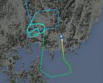 """하늘에 '태극마크' 그린 에어부산 항공기 화제…""""한국-독일 전 앞둔 길조?"""""""