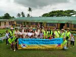 동주대, 미용계열 학생들 5년째 필리핀 현지 봉사활동
