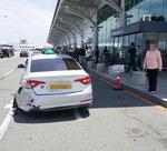 BMW 질주사고 가해자, 김해공항 잘 아는 에어부산 직원
