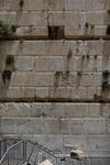예루살렘 통곡의 벽서 0.1t 벽돌 '쿵'