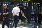 주중 미국대사관 근처 '폭발 의심 사고' 발생…용의자 여성 체포