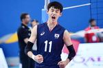 청소년 남자배구 아시아선수권 준우승…부산 성지고 정태준 주전센터 활약