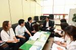 김태석 사하구청장, 폭염 속 장애인복지시설 점검