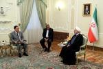 북한 리용호, 이란 대통령 만나 북미회담 설명