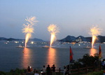 한산대첩 축제 한산해전 재연행사