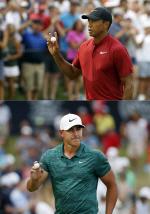 브룩스 켑카, PGA 챔피언쉽(십) 우승...'골프황제' 타이거 우즈 준우승