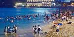 폭염이 바꾼 피서문화…밤이면 북적이는 해운대해수욕장