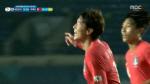 한국·바레인, 황의조 두 번째 골…전반전 3:0으로 크게 앞서