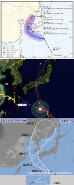 """한국·중국·일본 기상청 예상 태풍 솔릭 경로 봤더니...모두 """"한반도 관통"""""""