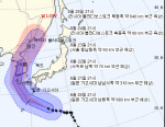 태풍 솔릭 경로 22일이 관건...일본 가고시마서 출발, 제주 서울 거쳐 러시아서 소멸