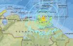 """베네수엘라 인근서 규모 7.0 지진...""""빌딩 흔들리는 것 느껴"""""""